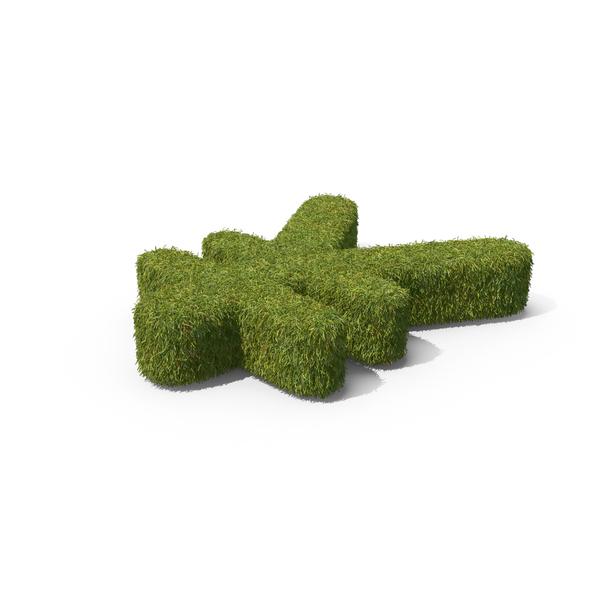 Grass Yuan Symbol PNG & PSD Images