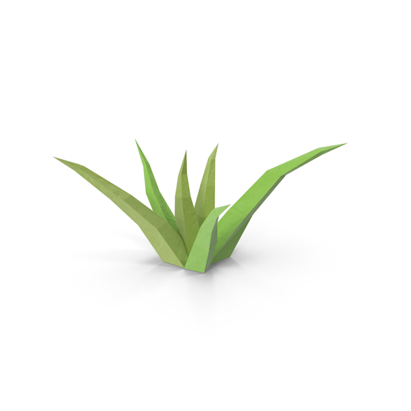 Grasses (Low Poly) PNG & PSD Images