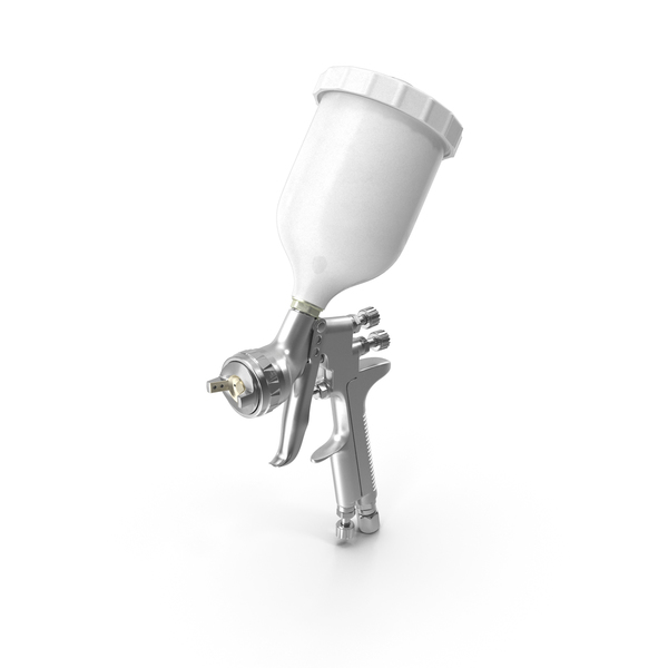 Spray: Gravity Feed Paint Gun PNG & PSD Images