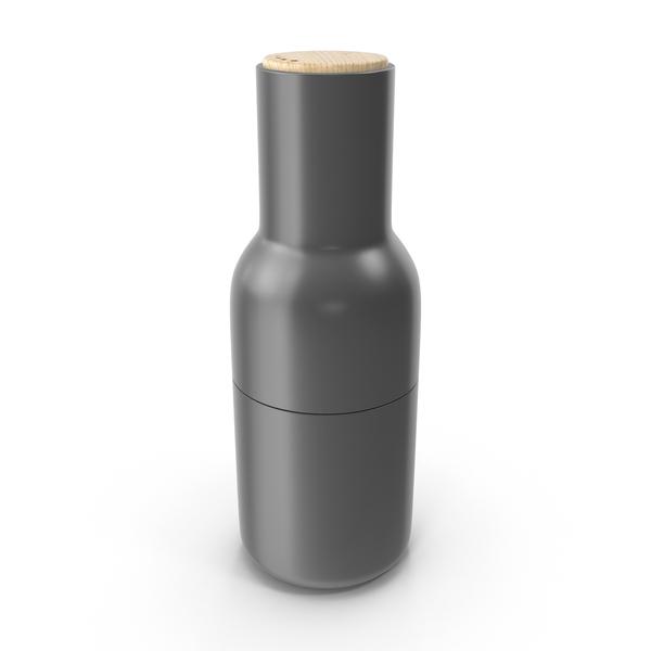 Gray Bottle Grinder PNG & PSD Images