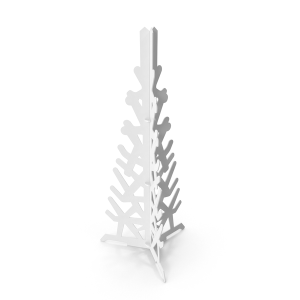 Gray Decorative Christmas Tree PNG & PSD Images