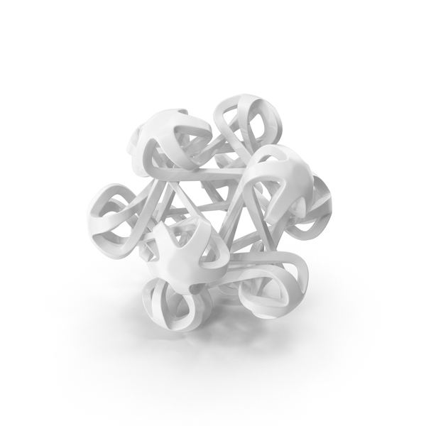 Gray Icosahedral Bloom PNG & PSD Images