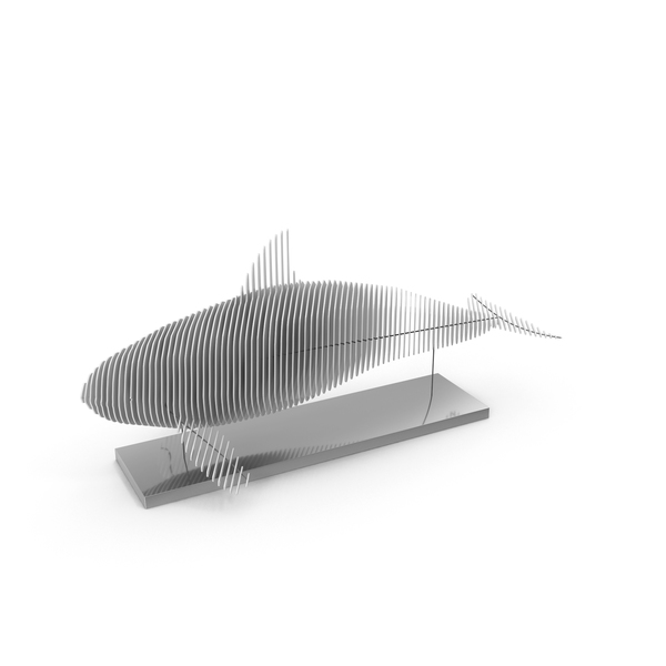Gray Parametric Decor Killer Whale PNG & PSD Images