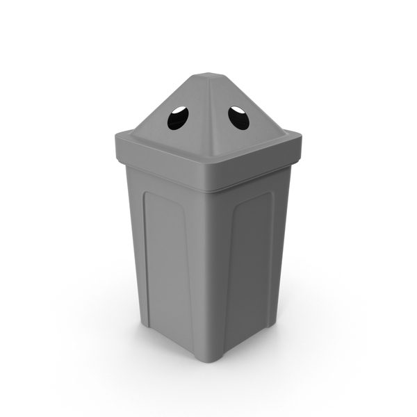 Gray Recycle Bin PNG & PSD Images