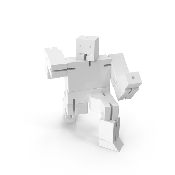 Gray Toy Robot PNG & PSD Images