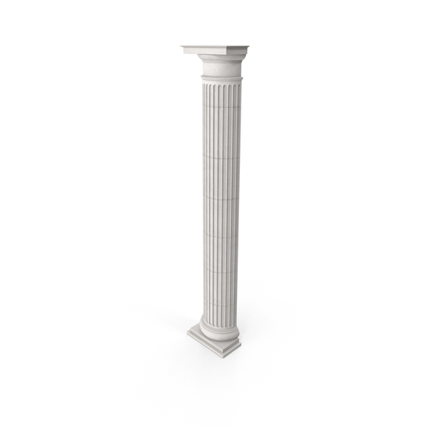 Column: Greco-Roman Doric Pilaster PNG & PSD Images