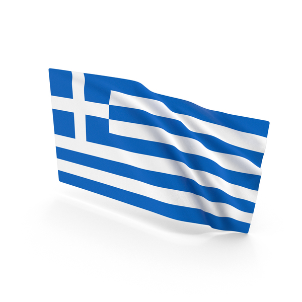 Greece Waving Flag PNG & PSD Images