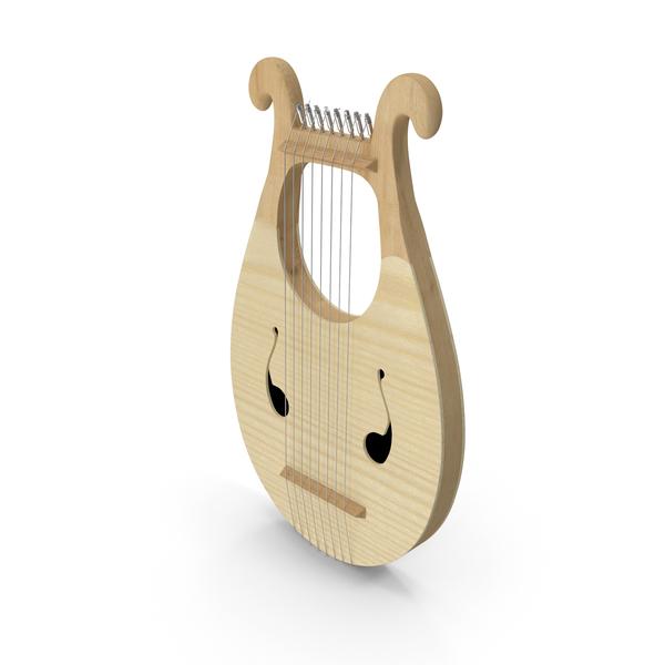 Greek Lyre Harp 8 String PNG & PSD Images