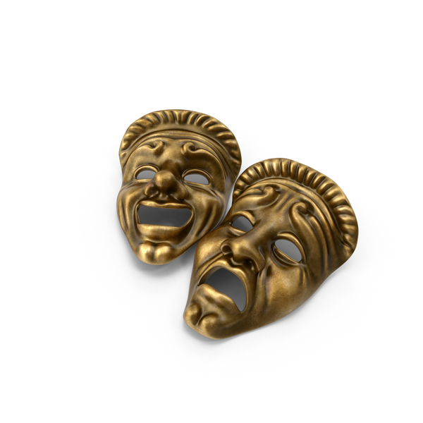 Greek Theatre Masks PNG & PSD Images