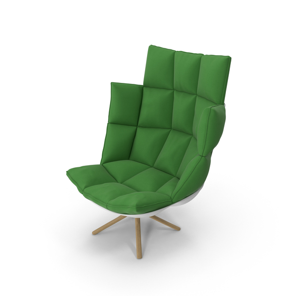 Green Armchair PNG & PSD Images