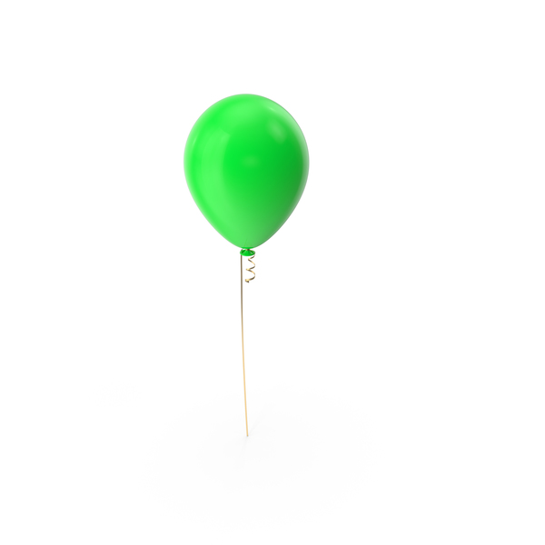 Green Balloon Object