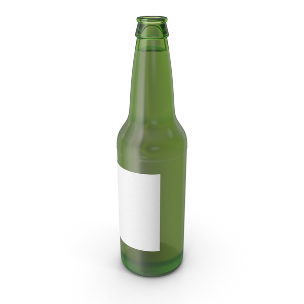 Green Beer Bottle PNG & PSD Images