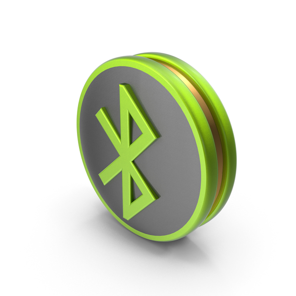 Computer: Green Bluetooth Icon PNG & PSD Images