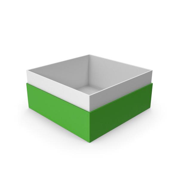 Cardboard: Green Box No Cap PNG & PSD Images