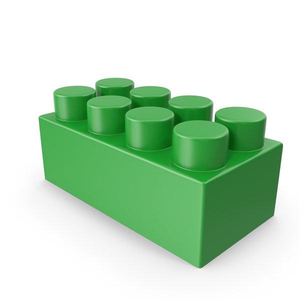 Green Building Block PNG & PSD Images