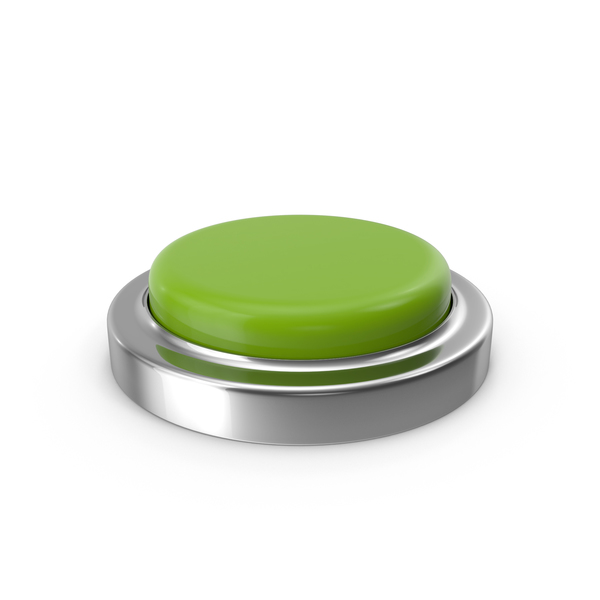 Pushbutton Switch: Green Button PNG & PSD Images