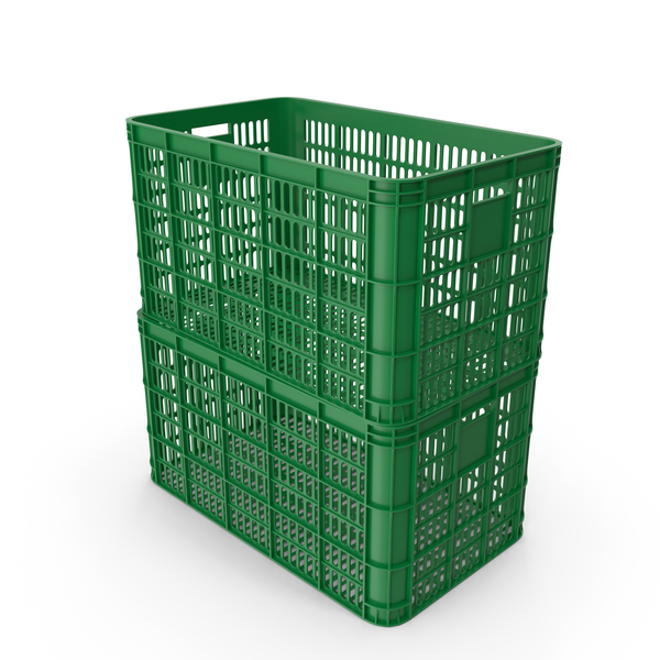 Green Crates PNG & PSD Images