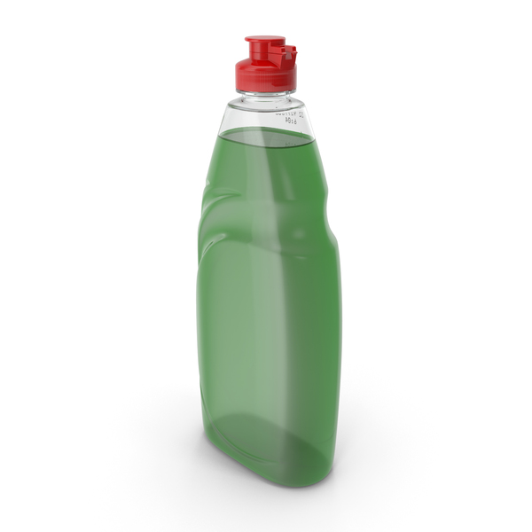Green Dishwashing Liquid PNG & PSD Images