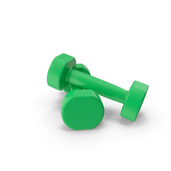 green dumbbells PNG & PSD Images