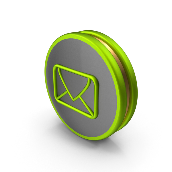 Green Email Icon PNG & PSD Images