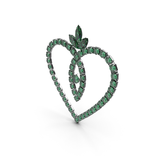 Green Emerald Crystal Jewelry PNG & PSD Images