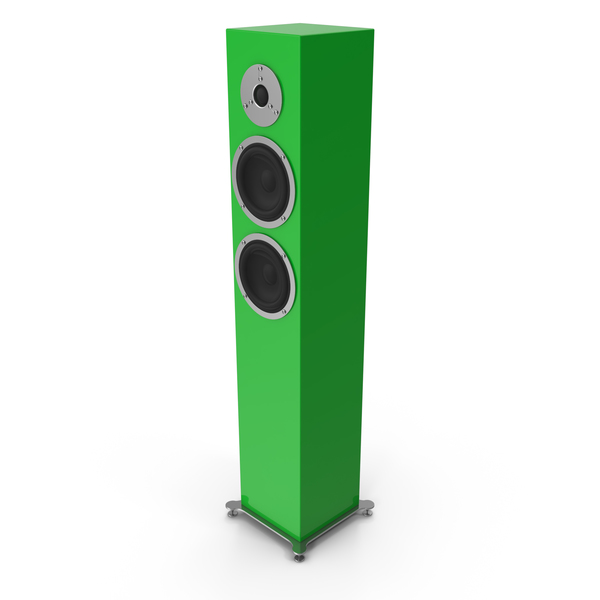 Green Floor Speaker PNG & PSD Images
