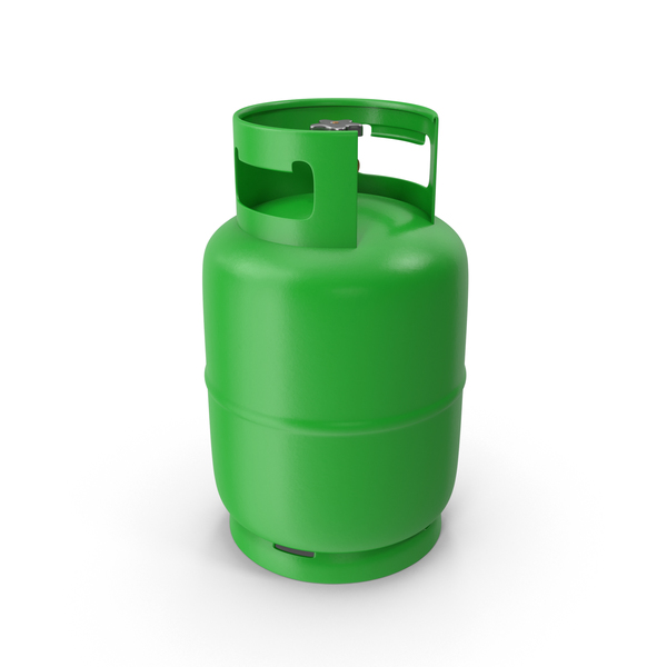Industrial: Green Gas Tank PNG & PSD Images