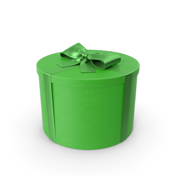 Green Gift PNG & PSD Images