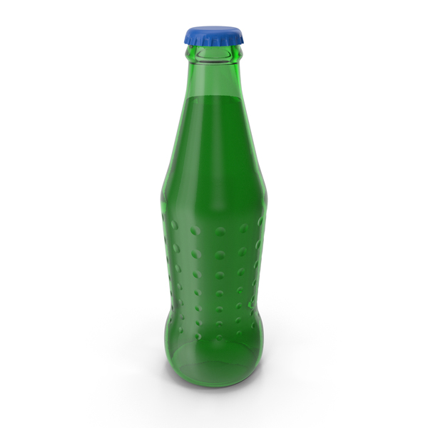 Green Glass Bottle PNG & PSD Images