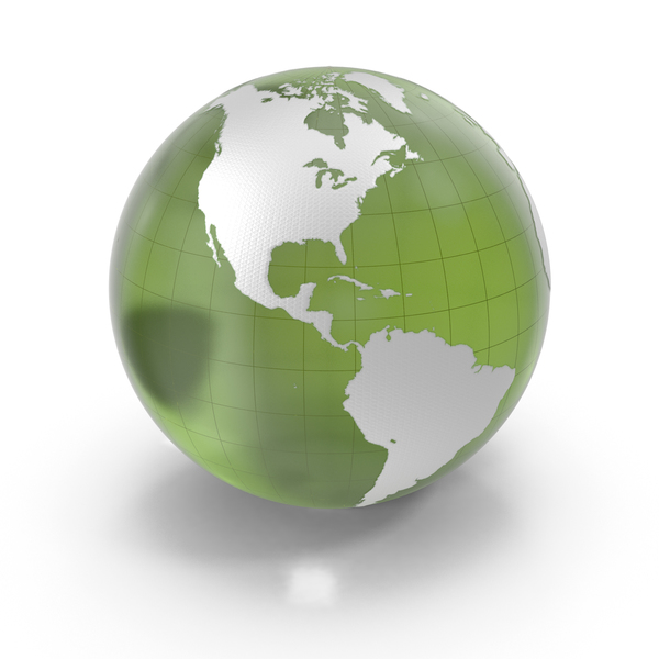 Green Glass Earth PNG & PSD Images