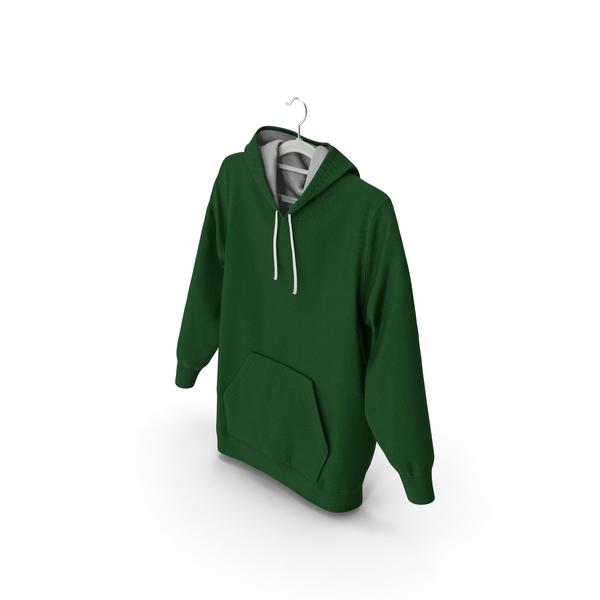 Sweatshirt: Green Hoodie PNG & PSD Images