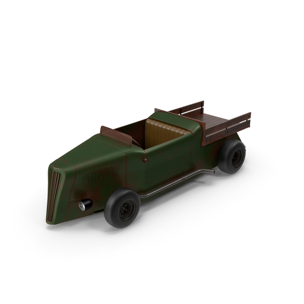Green Hot Rod PNG & PSD Images