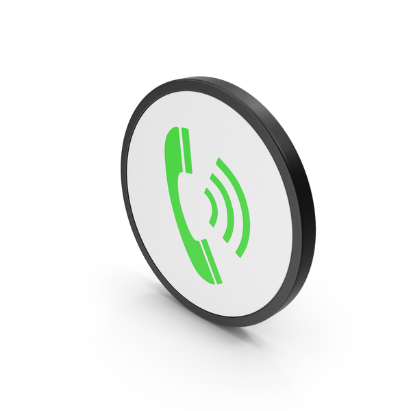 Green Icon Phone PNG & PSD Images