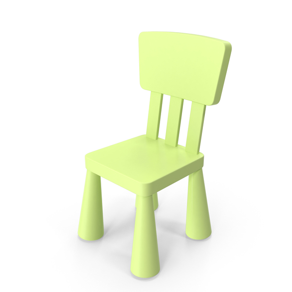 Green Ikea Mammut Chair PNG & PSD Images