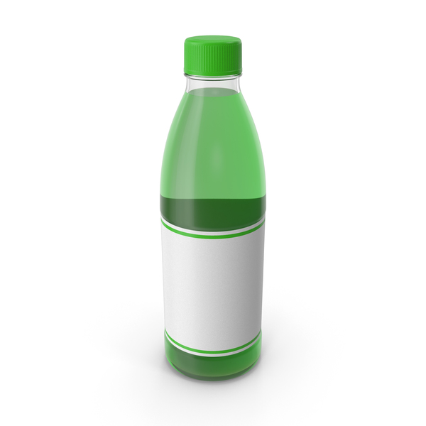 Green Juice Bottle PNG & PSD Images