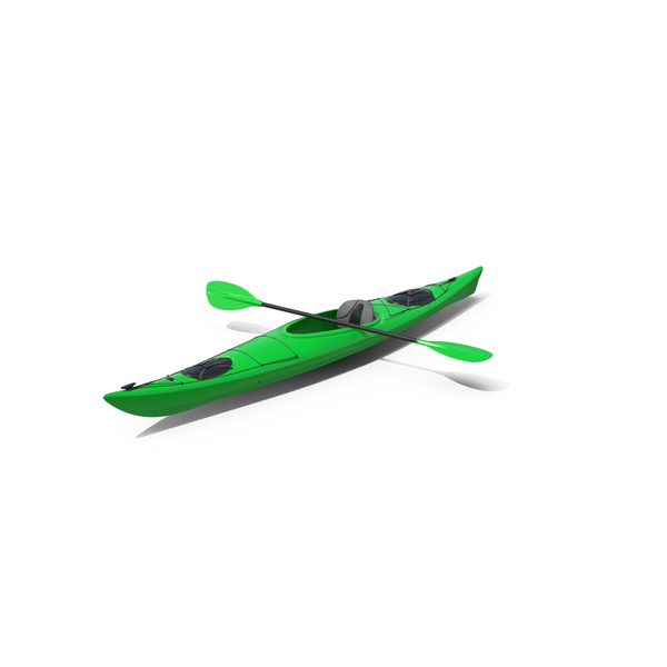 Green Kayak PNG & PSD Images