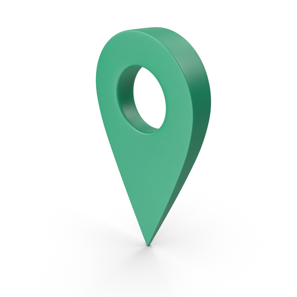 Green Map Pointer PNG & PSD Images