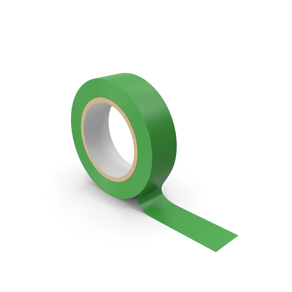 Green Masking Tape PNG & PSD Images
