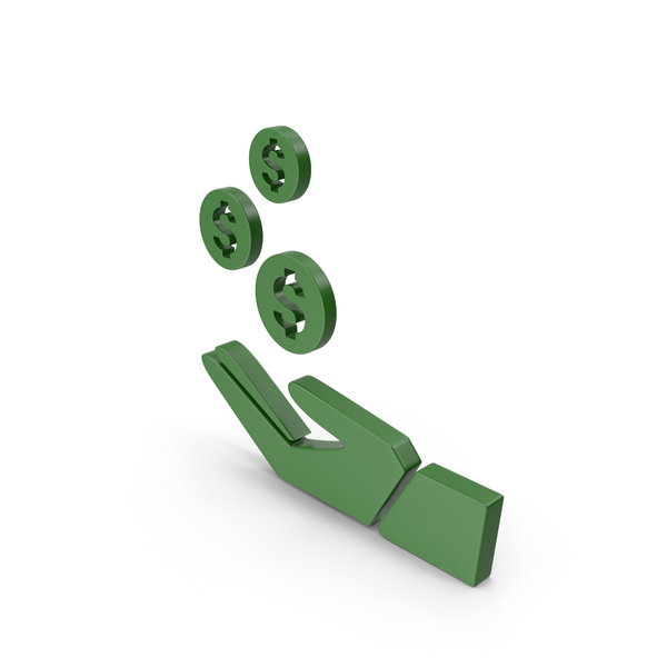 Green Money Icon PNG & PSD Images