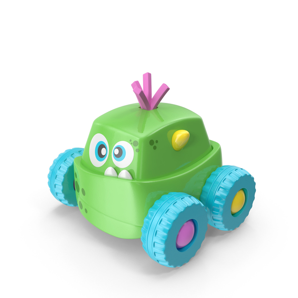 Green Monster Toy PNG & PSD Images