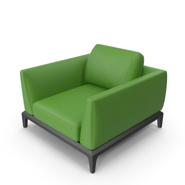 Green Office Chair PNG & PSD Images