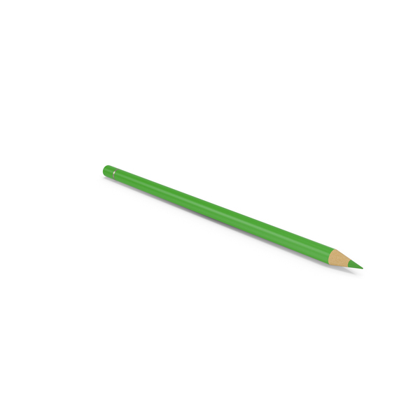 Colored: Green Pencil PNG & PSD Images