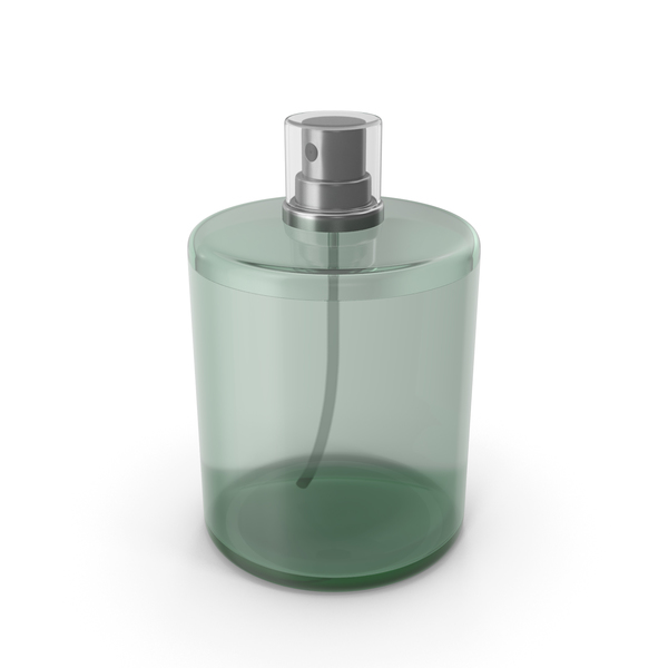 Green Perfume Bottle PNG & PSD Images