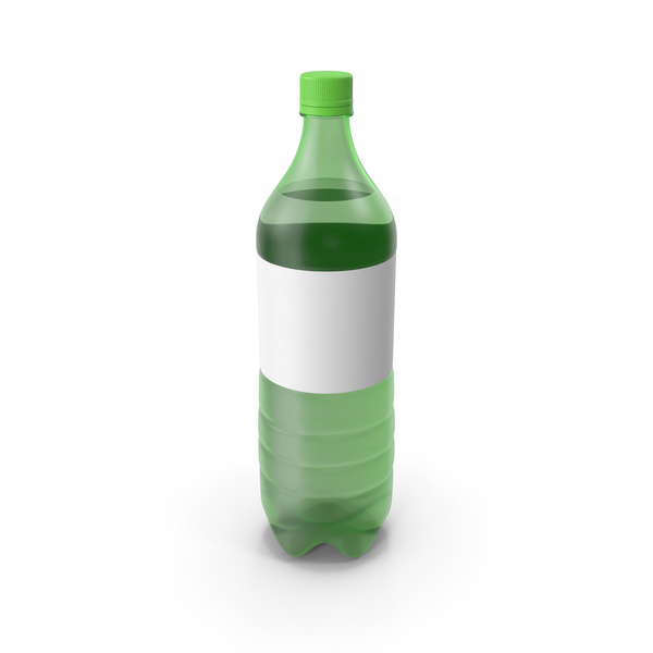 Green Plastic Bottle PNG & PSD Images