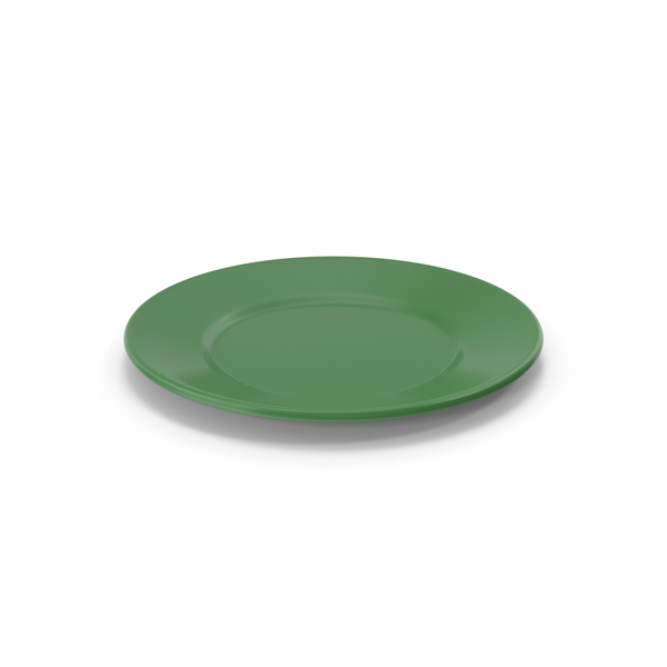 Green Plate PNG & PSD Images