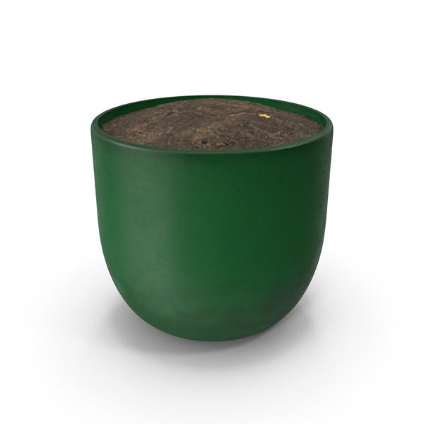 Green Pot PNG & PSD Images