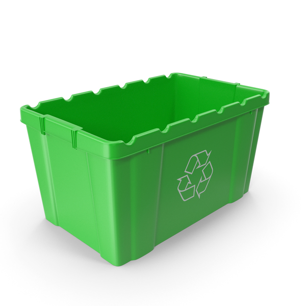 Green Recycling Bin PNG & PSD Images