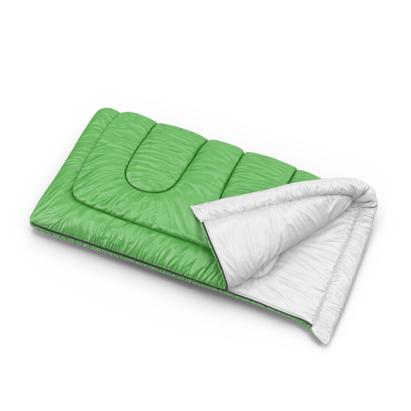 Green Sleeping Bag PNG & PSD Images