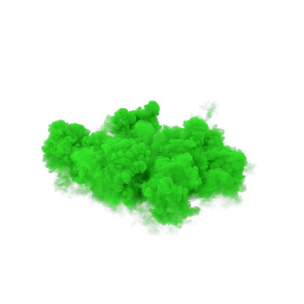 Green Smoke PNG & PSD Images