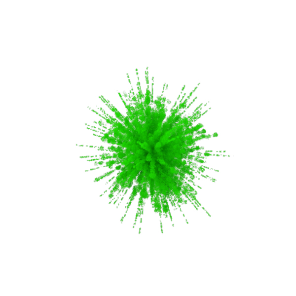 Green Smoke Explosion PNG & PSD Images